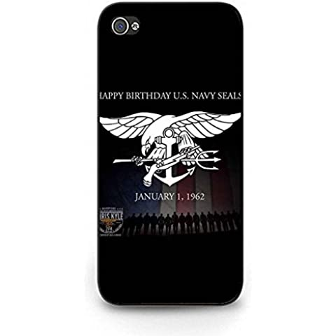Navy Seals Logo Iphone 5c Phone Case Cover,Fashion Cool Commando Navy Seals Case Cover Rugged Back Shell for Iphone 5c