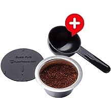GUSTO PURO: cápsula rellenable de café fabricados en acero inoxidable para máquinas Nescafé Dolce Gusto®
