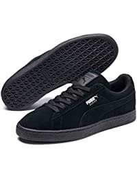 Puma - Suede Classic+ - Baskets mode - Mixte Adulte - Noir (black-dark shadow) - 40 EU