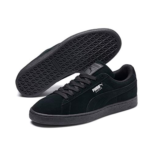 Puma Suede Classic+', Sneaker Unisex - Adulto, Nero (Black-Dark Shadow), 43 EU
