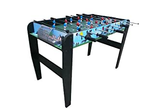 Debut Sport Arena Football Game Table - Green, 4 Ft