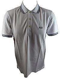 Hugo Boss Verts Pour Hommes 'Paddy' Chemise Polo Blanc (HBGPS001b)