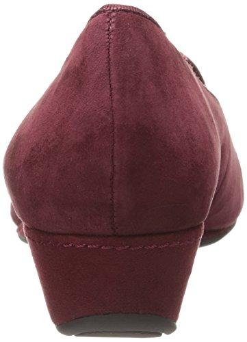 Easy Spirit Women's Davita Slip-On Loafer,Red,6 W US Red