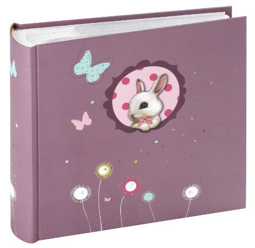 panodia-271048-foxy-album-de-fotos-tipo-libro-200-paginas-10-x-15-cm-diseno-de-conejo-color-violeta