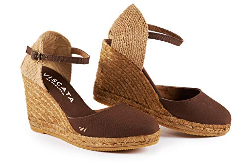 VISCATA Barcelona Satuna - Brown EU37 Brown Womens Heels