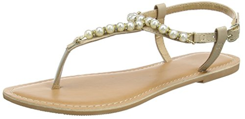 Dorothy Perkins - Florence Pearl, Scarpe col tacco Donna Pink (Peach)