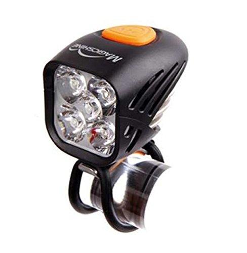 Magicshine MJ 906 OP - vorgestellt auf der Eurobike. Mit optimierter Optik (Focus+Streuanteil>120°) zeigt EIN gleichmäßigeres Lichtfeld. Verfügbar unter: Magicshine.de - 4-track-lichter