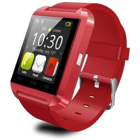 LEMFO Bluetooth Smart Watch Reloj Pulsera Inteligente U8 UWatch, Apto para Smartphones IOS Android Apple iphone 4/4S/5/5C/5S Android Samsung S2/S3/S4/Note 2/Note 3 HTC Sony Blackberry -