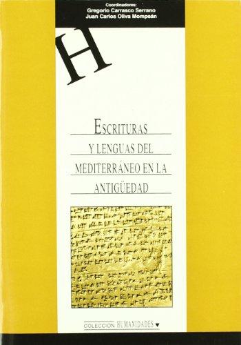 Escrituras y Lenguas del Mediterráneo en la Antigüedad. (HUMANIDADES)