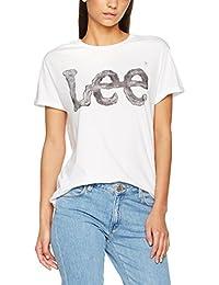 Lee Logo Tee - Camiseta Mujer