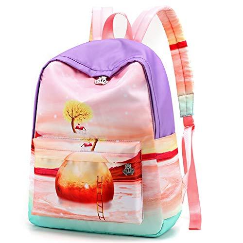 VECOLE Einfarbig Schlank Minimalistischer Stil Landschaft Serie Wasserdichter Nylon Rucksack Umhängetaschen Umhängetaschen Strandtaschen Handtaschen Handytasche Brusttasche Münztaschen Schultaschen -
