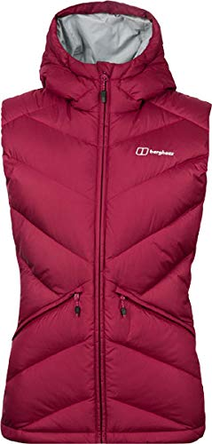berghaus Easdale Down Vest Women Beet red UK 12 = EU 38 Womens Down Vest