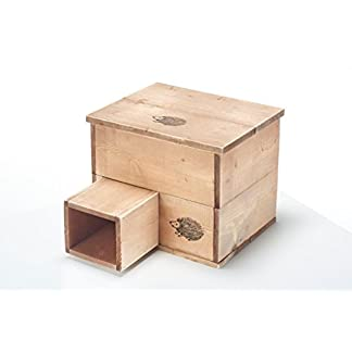 bewicks home and garden products traditional wooden hedgehog house or nest Bewicks Home and Garden Products Traditional Wooden Hedgehog House or Nest 41LaLIGnVTL