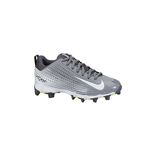 Nike Boy's Vapor Keystone 2 Low (GS) Baseball Cleat Stealth/Graphite/White Size 13 Kids US