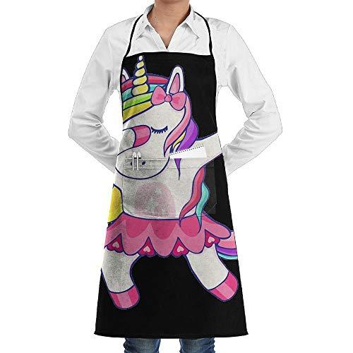 Kim spratlin Delantal Unicornio Fabuloso Bolsillo