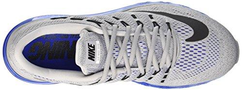 Nike Herren Air Max 2016 Gymnastik, 44 EU Grey / noir / Bleu (Wolf Grey/Black-Racer Blue-Sl)