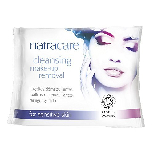 Make-up Removal Wipes (Wipes Cleansing Make Up Removal 20 Count by Natracare)