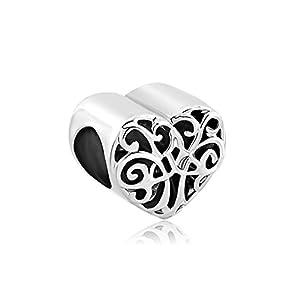 korliya Familie Tree of Life Charm Bead Herz keltischer Knoten für Armband