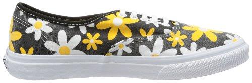 Vans U Authentic Slim (Van Doren)spec, basket mixte adulte Noir - Schwarz ((Van Doren) spectra yellow/daisy)
