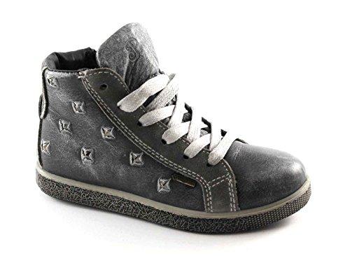 PRIMIGI 46140 31/34 grigio scarpe bambina sneaker mid zip laterale goretex Grigio