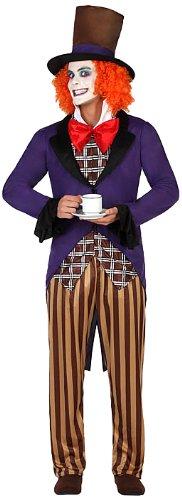 Imagen de atosa  disfraz de payaso para hombre, talla m/l 22901
