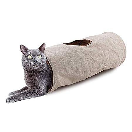 Crinkle Cat Tunnel-Schlauch zusammenlegbaren Spiel Spielzeug Spaß for Kaninchen, Kätzchen und Hunde hellip; jilisay