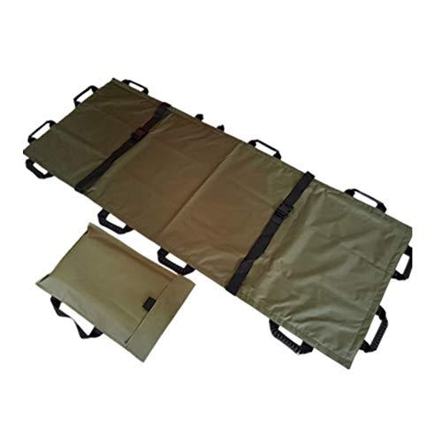 Tragbare, weiche Trage mit 12 Griffen und wasserdichter Notfall-Falttrage für Krankenhäuser, Kliniken, Heim- und Sportstätten,A