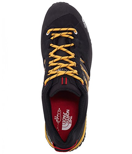 The North Face M Verto Plasma Ii Gtx, Chaussures de Randonnée Homme Noir - Negro (TNF Black / TNF Yellow)