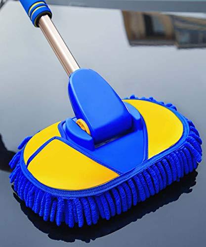 BMDHA Autowaschbürste Chenille Weiche Bürste Wasche Mop Wird Die Farbe Nicht Verletzen 62-97Cm,B