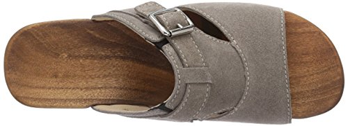 Woody Jenny, Mules Femme Gris (taupe)