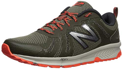 New Balance 590v4, Scarpe Running Uomo, Verde (Serpent Green/Alpha Orange Rg4), 43 EU