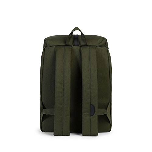 Herschel Supply Company Post mid-volume Casual Tagesrucksack Forest Night/Black Rubber/White Inset