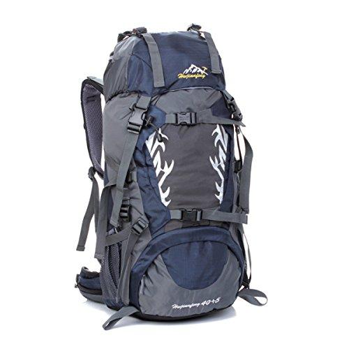 45L Im Freien Rucksack Bergsteigen Tasche Paar Rucksack Für Wandern Dark