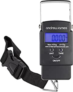 Andrew James Digital Luggage Travel Scales Includes 2 Year Warranty