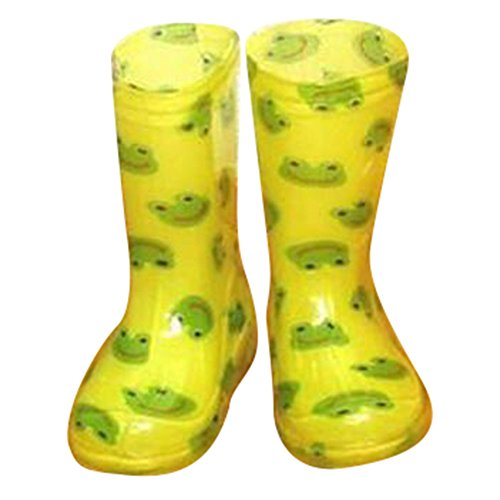 Kid Boys & Girls Rainboot Rain Shoes Waterproof Boots PVC