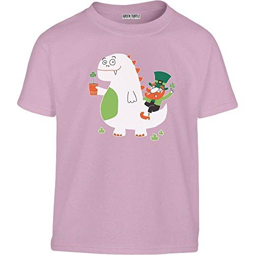 che und Kobold Kids Kleinkind Kinder T-Shirt - Gr. 86-128 86/92 (1-2J) Rosa (Kobold Kostüm Kleinkind)