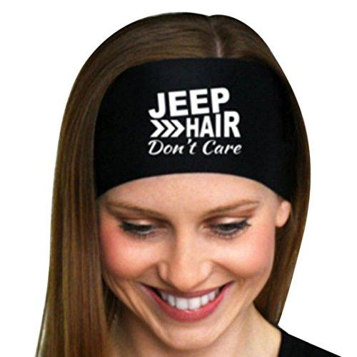 MOIKA Unisex Sport Yoga Schweißband Gym Stretch Stirnband Haarband (Schwarz)