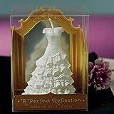 'Romántico Vela/Boda Vestido de novia en blanco