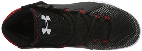 Under Armour Torch Fade, Chaussures de Basketball Homme Noir (Black)