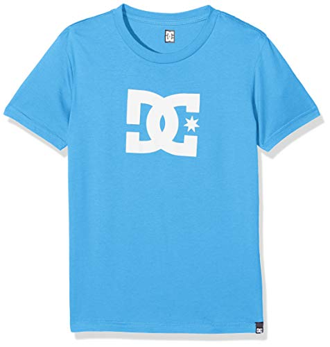 DC Apparel Jungen Star Tee-Shirt, Brilliant Blue, 14/L -