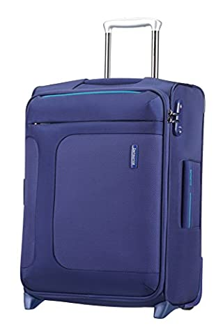 Samsonite Asphere Suitcase Upright 55 centimeters Expandable Cabin Luggage Blue/Light Blue