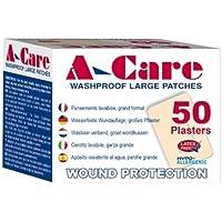 Aeroplast A-Care Pflaster, waschfest. Wundkompresse, groß, 7,2 x 5 cm, 50 Stück preisvergleich bei billige-tabletten.eu