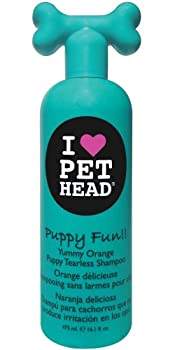 Pet Head Shampooing pour Chiots Puppy Fun Parfum Orange Délicieuse 475 ml