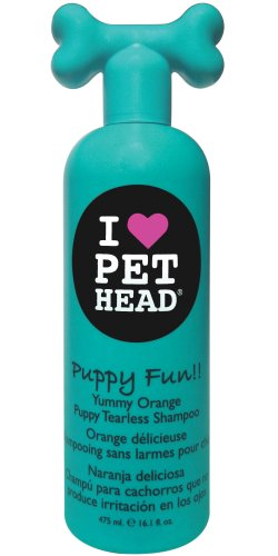 Pet Head Puppy Fun Hypoallergisches Shampoo, 475 ml (Spa Haustier-shampoo)