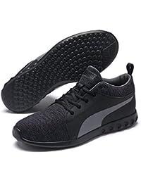 396707fe6bd7 Puma Unisex Fitness-Schuhe Carson 2 Mid Knit – atmungsaktive Lauf-Schuhe  für Damen und Herren mit Cooler Strick-Optik und optimalem…