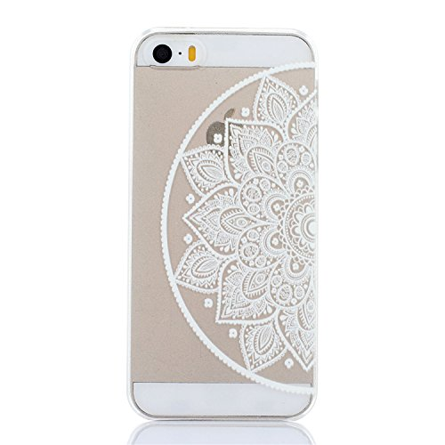ARTLU® Henna Million Spent Ethnic Tribal Plastik Schutzhülle Case Cover Schale Fall Tasche Hülle für Apple iPhone 6/6S Hülle Handytasche HandyHülle Etui Schale M2 M5