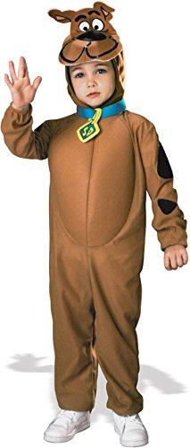 Original Lizenz Deluxe Scooby-Doo Kostüm SCOOBY DOO Mystery Machine Geisterjäger Mystery Hund Gr. 86/92, 98/104, 116/122, Größe:116/122