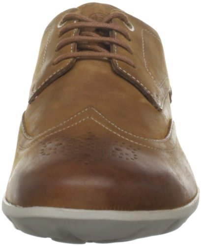 Rockport Twz Touring Wingtip, Baskets mode homme Marron (Caramel Tan)