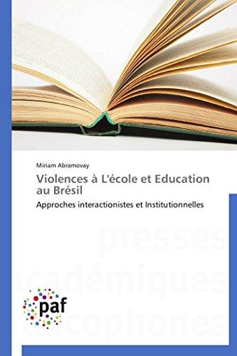 Violences à l'école et education au brésil
