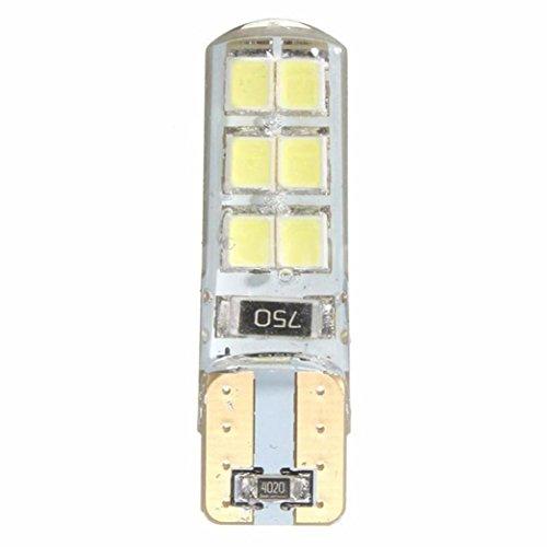 Erthome 10 pcs T10 194 W5 W COB 2835 SMD clignotant Feu de voiture CANBUS Super Bright licence ampoule 2 W